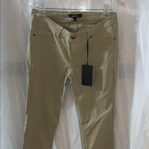 Khaki Skinny Pants